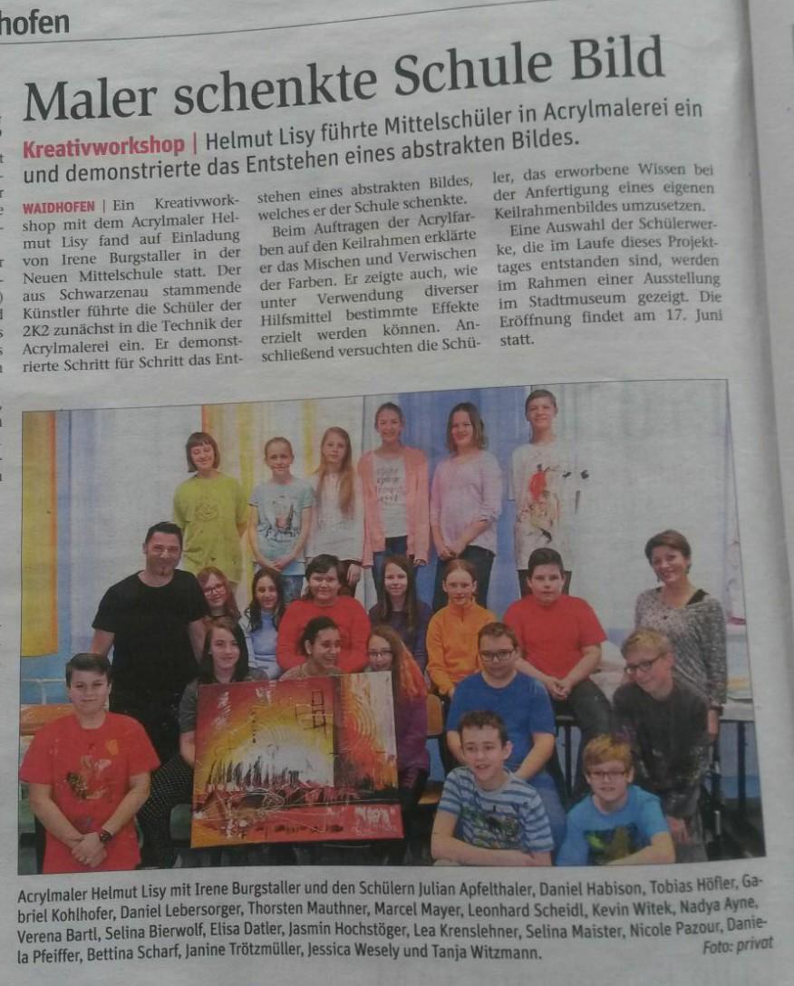 Projekttag: Waidhofen/Th.